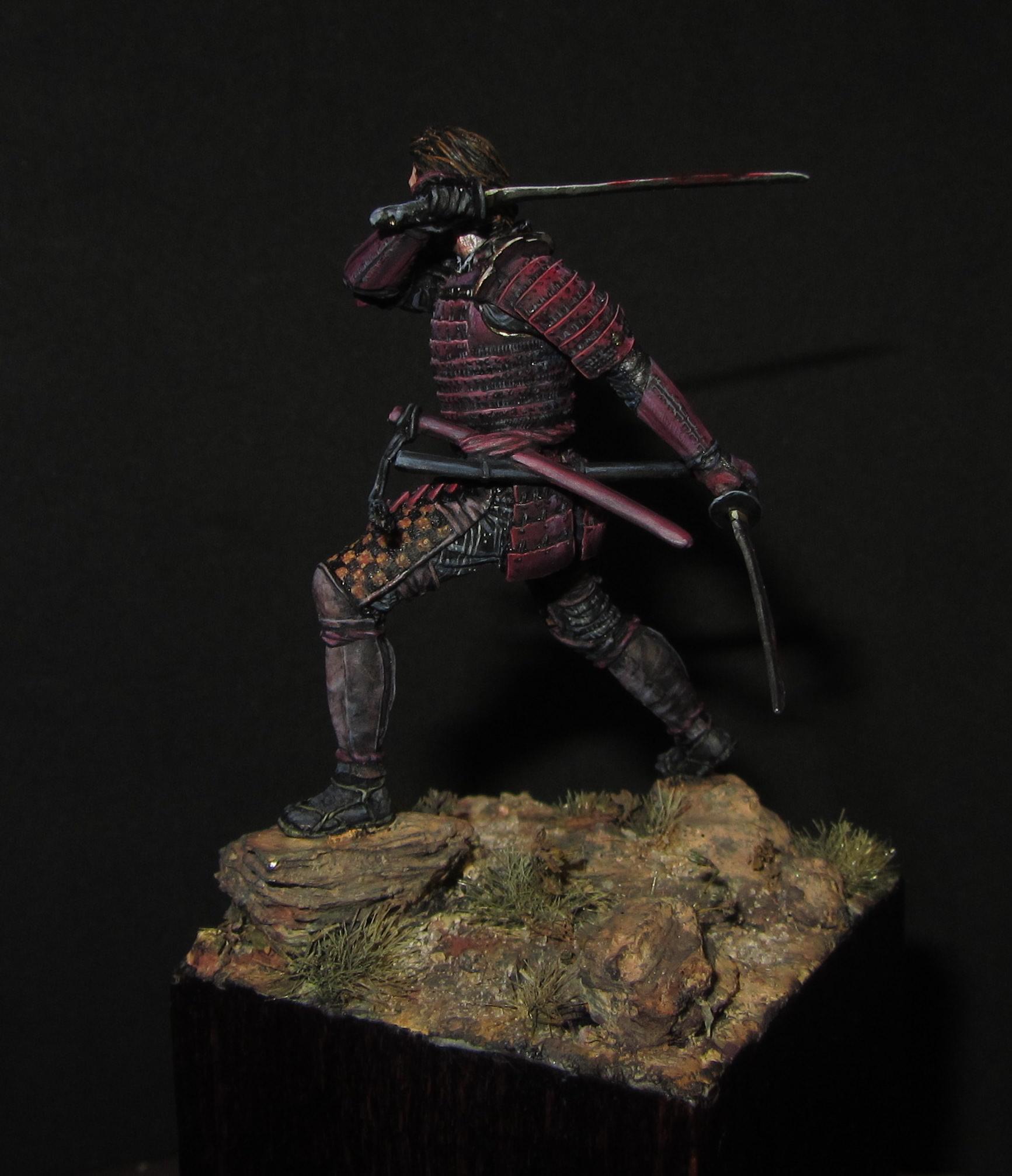 the last samurai tom cruise andrea miniatures 54mm