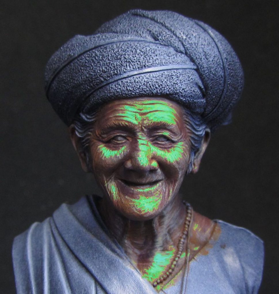 How To Paint Brown Skin The Old Lady Of Bali Notoriginalminis